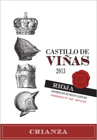 Castillo de Viñas Crianza Red 2013