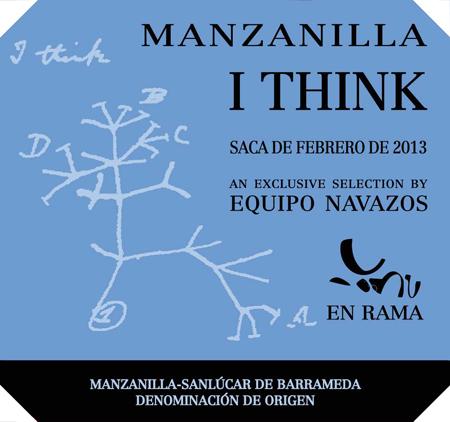 "Equipo Navazos ""I Think"" Manzanilla en rama saca 2013"