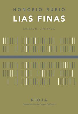 "Honorio Rubio ""Lias Finas"" Crianza White 2011"