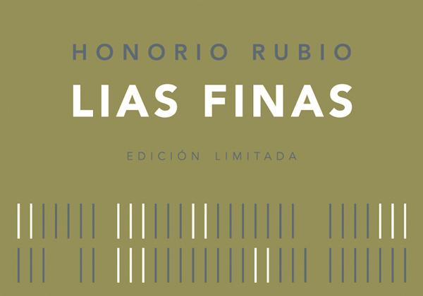"""Honorio Rubio """"Lias Finas"""" Crianza White 2011 Label"""