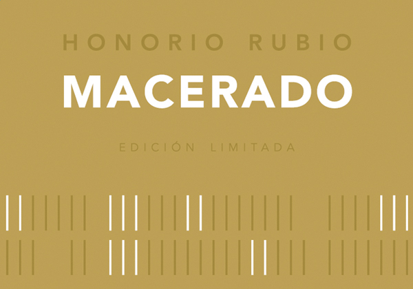 "Honorio Rubio ""Macerado"" White 2013 label"