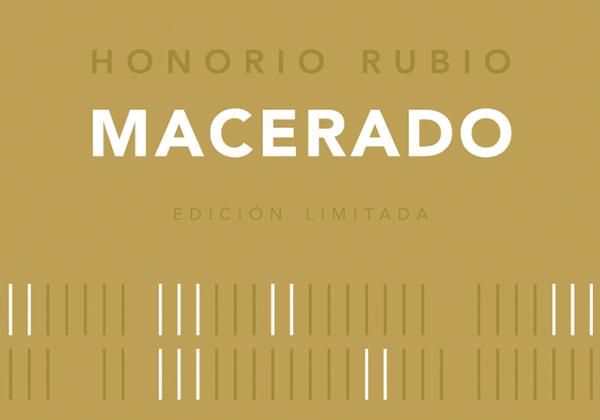 "Honorio Rubio ""Macerado"" White 2013 label"