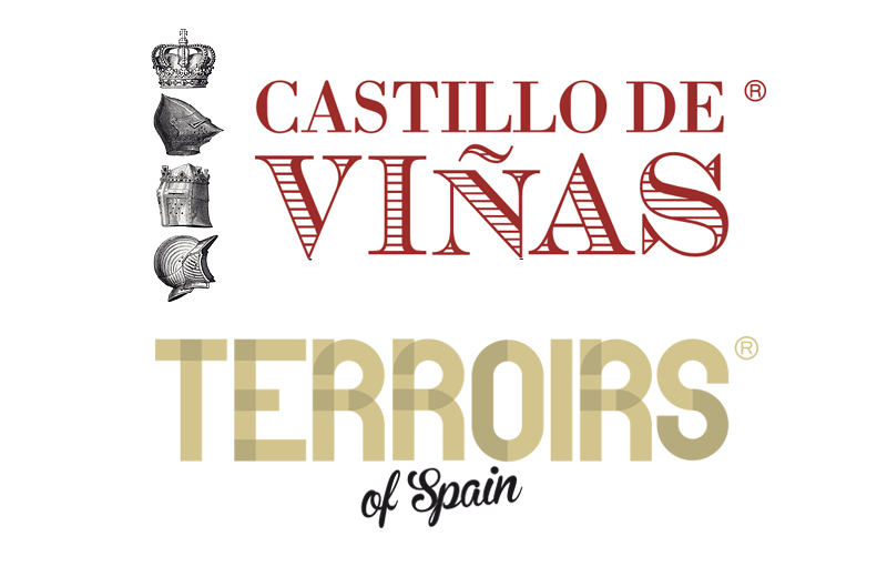 Castillo de Viñas & Terroirs of Spain logos
