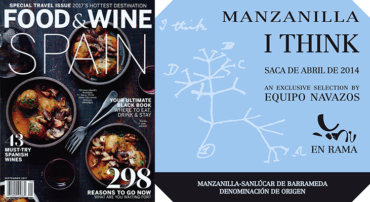 "I Think Manzanillaが""Must-Buy""に抜擢 in FOOD&WINE Magazine"