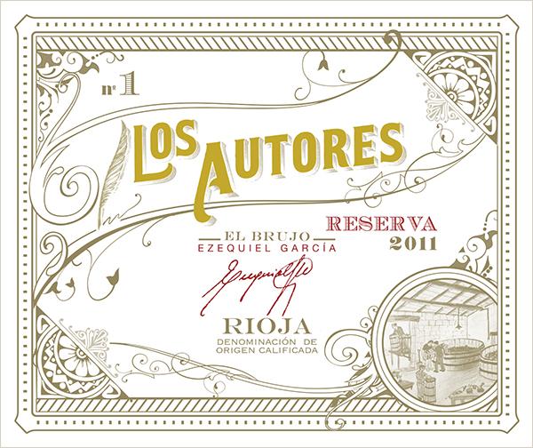 """Los Autores """"No. 1"""" Vieja Reserva Red 2011"""