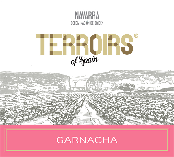 Terroirs of Spain Navarra Garnacha Rosado label