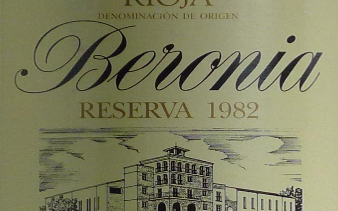 Beronia Reserva 1982