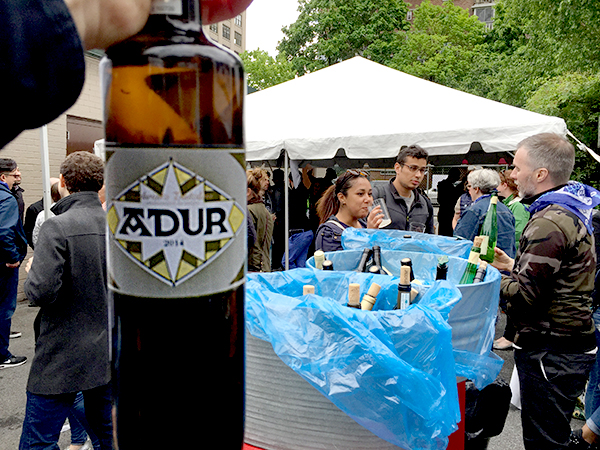 Adur Txakoli Featured at Txikifest in NYC, 5/15/16