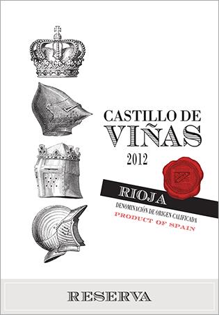 Castillo de Viñas Reserva Red 2012