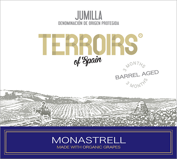 "Terroirs of Spain Jumilla ""Barrel Aged"" Monastrell Organic 2015"