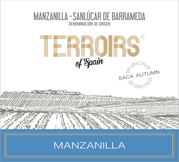 Terroirs of Spain Manzanilla Dry Sherry Label