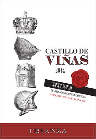 Castillo de Viñas Crianza Red 2014