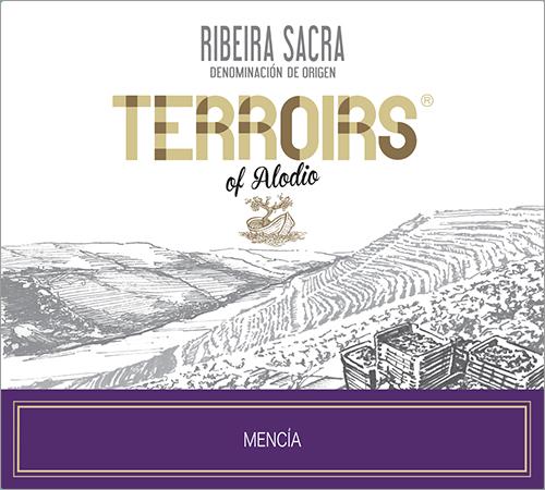 Terroirs of Alodio Ribeira Sacra Mencía 2017