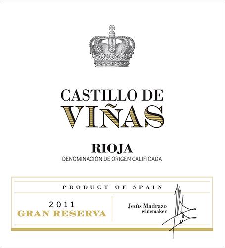 Castillo de Viñas Gran Reserva Red 2011